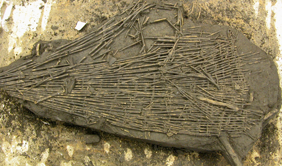 A Mesolithic fish trap